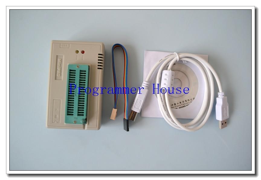 100% nouveau V8.33 TL866CS TL866A TL866II Plus programmeur universel minipro TL866 nand flash AVR PIC Bios USB programmeur + 27 adaptateurs - 6