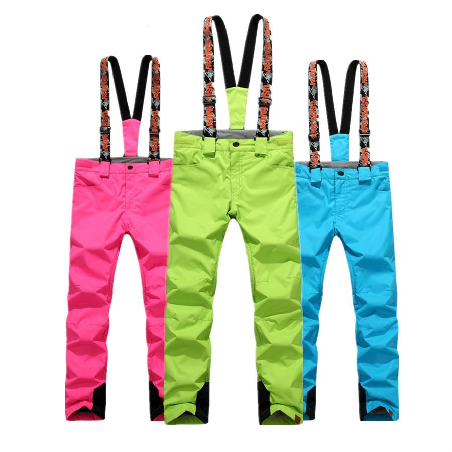 NIUMO NEW Snowboarding Pants font b Ski b font pants woman waterproof Keep warm Thickening winter