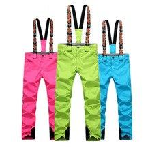 NIUMO NOWY Snowboard Spodnie Narciarskie spodnie kobieta wodoodporna Utrzymać ciepłe Pogrubienie zimowym Na Zewnątrz spodnie Narciarskie spodnie