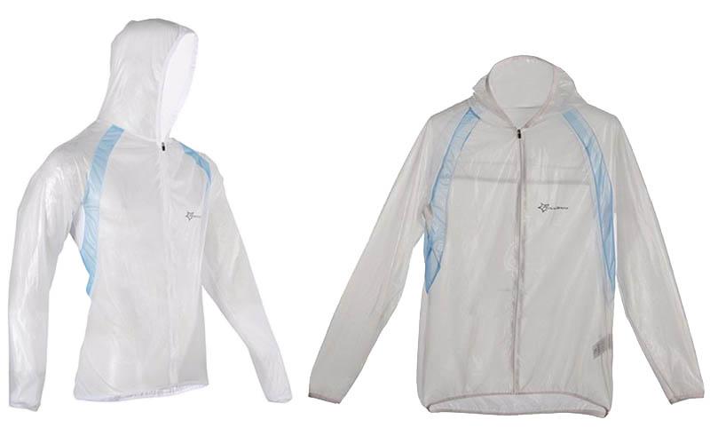 ROCKBROS Waterproof Cycling Jersey breathable Jacket Jersey Windproof Coat Clothing MTB Reflective Bike Road Raincoat RK0019 (5)