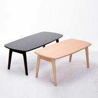 Японский пол деревянные ножки стола складной 120x55 см мебель для гостиной низкий деревянный складной tv/ноутбука/ компьютерный стол натуральн