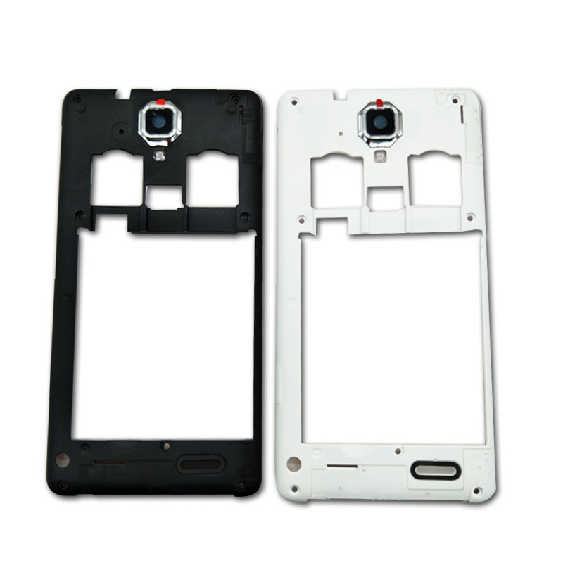 Middle Bezel Back Housing For Lenovo A536 A358T Middle Plate Rear Housing Repair Parts Original New