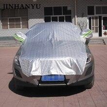 JINHANYU Универсальный Автомобильный Половина Обложка предотвратить дождь Солнце зимние толстые автомобилей охватывает покрытия щит для хэтчбека седан внедорожник дополнительно