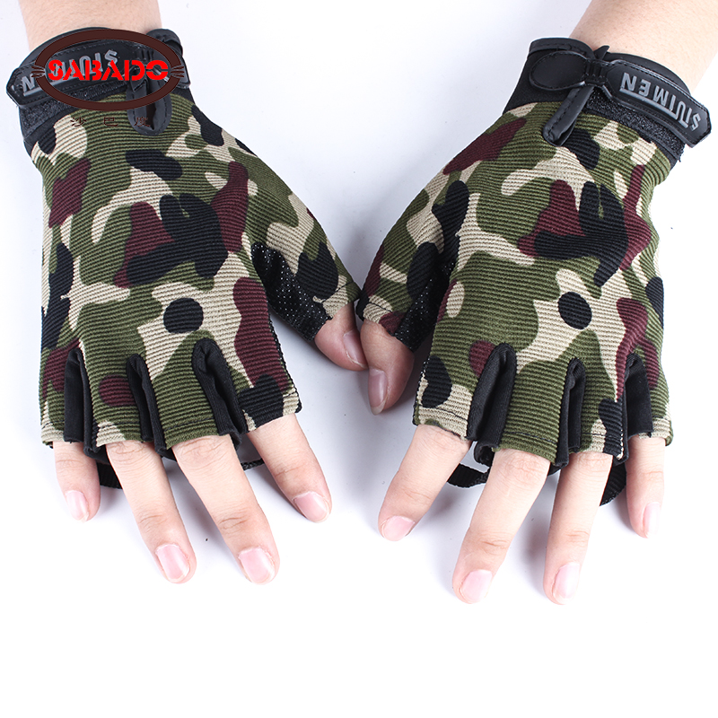 2018 Outdoor Motorcycle Gloves half Full Finger Guantes Moto Racing Climbing Cycling Riding Sport Breathable Motocross Gloves in Cycling Gloves from Sports Entertainment