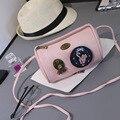2017 saco matagal Do Vintage das mulheres do sexo feminino bolsa de ombro bolsa das mulheres mini messenger bags com gato bonito das senhoras totes sacos de um principal