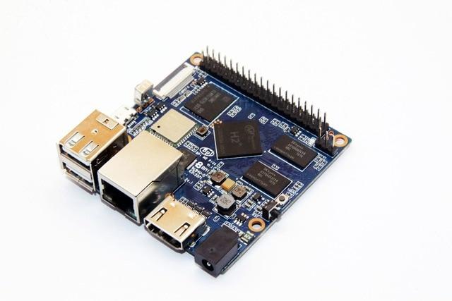H2+ Quad-Core MiNi A7 SoC  BPI-M2 Plus Banana Pi M2+ development board