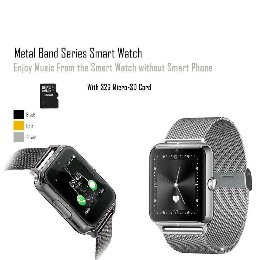 """Prix pour Bluetooth 4.0 Montre Smart Watch 1.54 """"pouces Support Carte SIM avec 32G TF Carte J50 Montre-Bracelet pour iOS et Android Téléphone PK LF11"""
