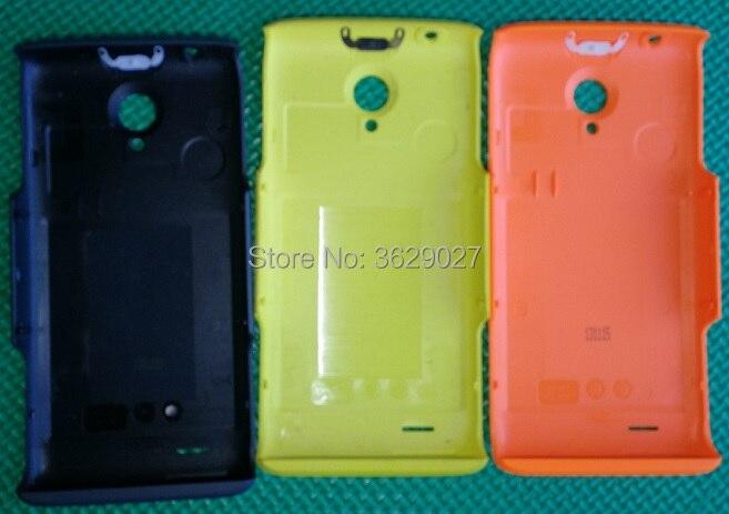 SZWESTTOP d'origine Retour logement pour Philips W6500 CTW6500 Mobile couvercle de la batterie pour Xenium téléphone téléphone portable