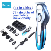 Kemei KM5031 11In1 professional electric hair cutting machine Clipper shaving hair trimmer beard rechargeable tools 5