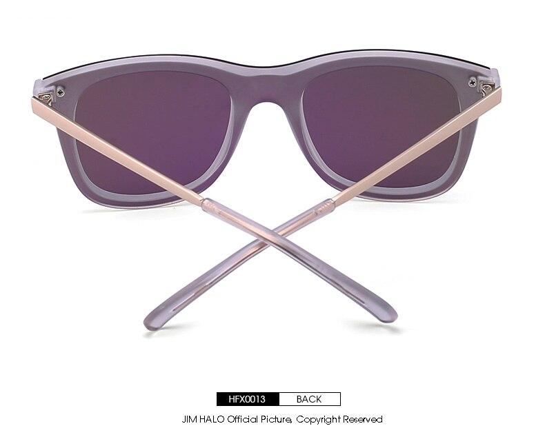 3c8edfc3ac JM Retro Clip polarizado en extraíble gafas de sol de las mujeres y los  hombres de espejo plano de la lente de marco de aleación de Steampunk, ...