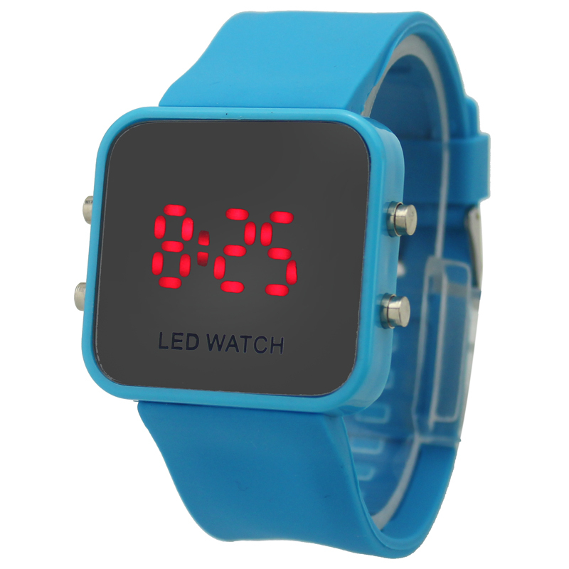 ed8c87004 Sky Blue Fancy Silicone band Girls Boys Teenagers Students Digital Wrist Watch  Kid Dress Watches Sport Watch Free Shipping-in Men's Costumes from Novelty  ...