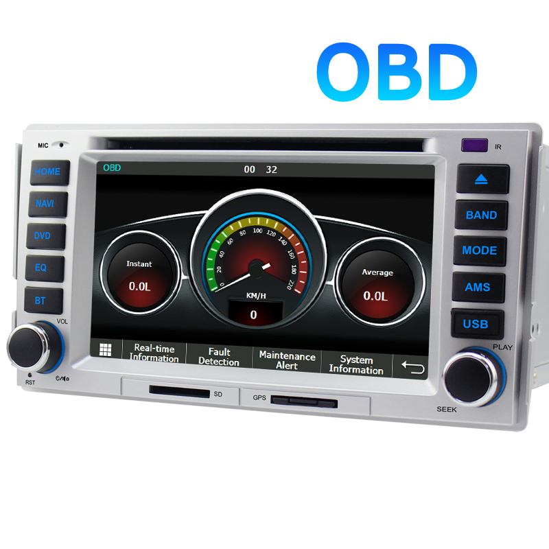 a sure car gps radio for hyundai santa fe elantra quad. Black Bedroom Furniture Sets. Home Design Ideas