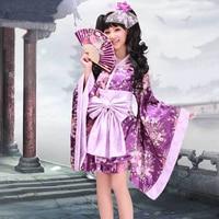 Halloween lolita costumes for women anime kimono maid cosplay costume lolita dress full set
