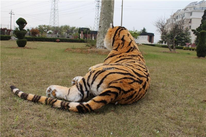 Fancytrader Just As Real Tiger! 87\'\' 220cm Rare in World! Huge Giant Plush Stuffed Emulational Tiger FT90282 (2)