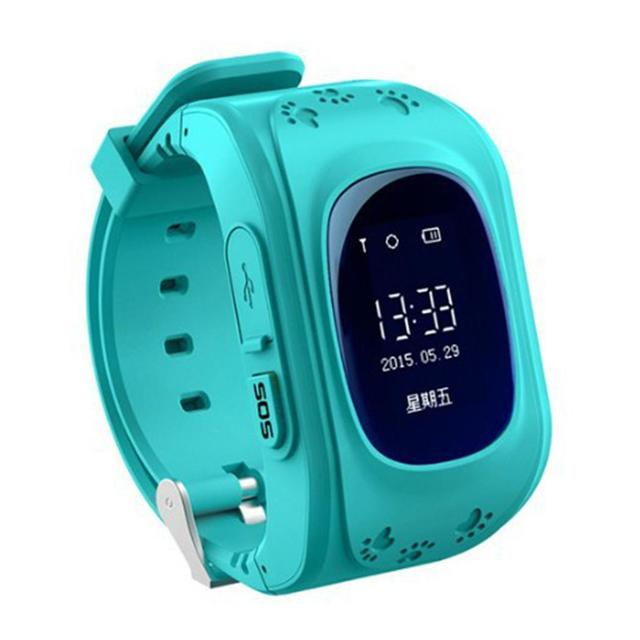 Child Kids Baby LBS Q50 Smart Tracker Pedometers With SOS Smart Monitoring Positioning Phone Call Function Kids Gift SOS Watch