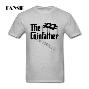 The Coin Father Bitcoin Short Sleeve Men T Shirt