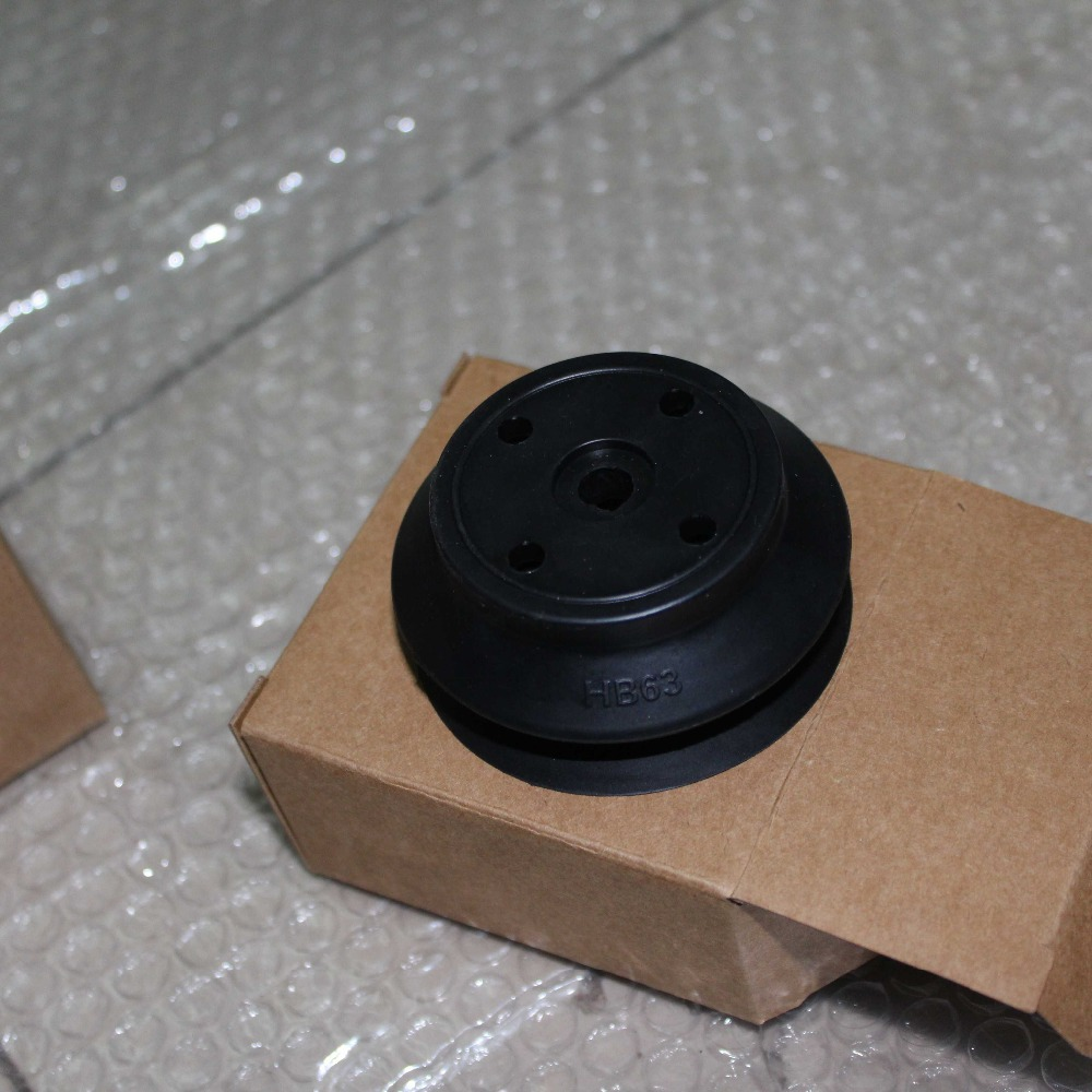цены  SMC pneumatic actuator Vacuum Chuck Plastic Suction Cup ZP63HBN with aluminum block