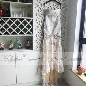 Image 3 - Mryarce 2019 Luxury Exclusive Lace Mermaid Wedding Dress Strapless Love Spell Boho Wedding Chic Bridal Gowns