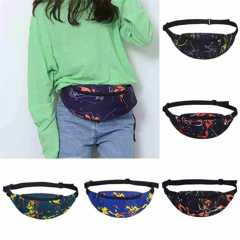 9e7a2b2521fa Fashion Sports Hiking Running Belt Waist Bag Pouch Zip Fanny Pack Small  Cross-body Bag
