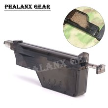 Paintball airsoft BB Ball Wargame 220 Rounds BB Speed Loader Guns Accessory Combat Quick Loader for Airsoft Magazine(China)