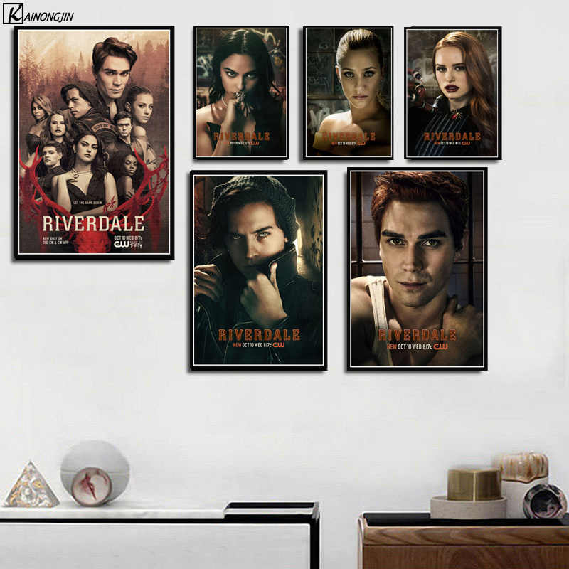 Riverdale Poster Season 3 Hot TV Series Show Posters and Prints Canvas Painting Wall Art Picture for Living Room Home Decor
