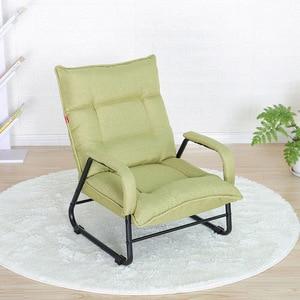 Креативный японский Повседневный ленивый диван, один балкон, гостиная, спальня, ткань, функциональный стул, кресла