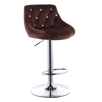 Simple Design Bar Counter Chair Lifting Swivel Rotating Adjustable Height Bar Stool Stainless Steel Stent High Quality cadeira -in Bar Chairs from Furniture ...  sc 1 st  AliExpress.com & Simple Design Bar Counter Chair Lifting Swivel Rotating Adjustable ... islam-shia.org