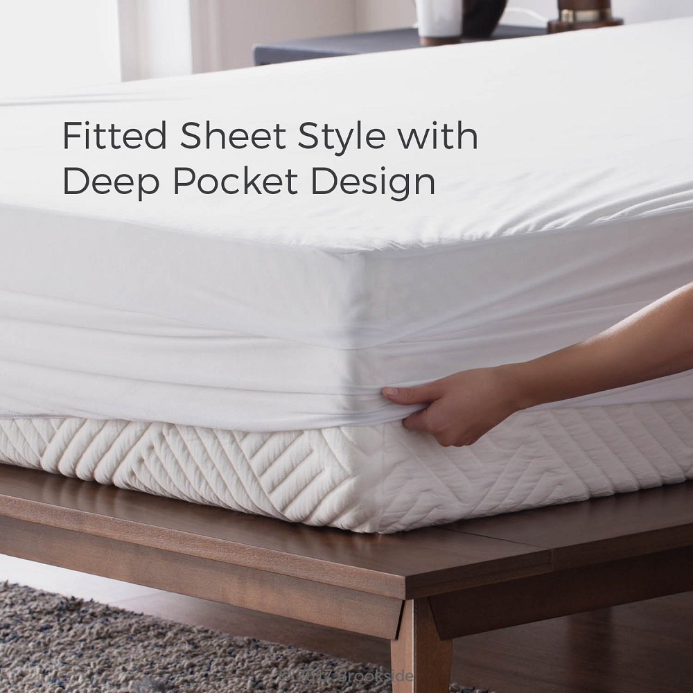 6 X HOTEL QUALITY QUILTED ANTI ALLERGENIC SINGLE MATTRESS PROTECTOR 90 x 190CM