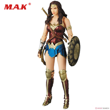 цена на PLAY ARTS Wonder Woman DC Justice League Statue Action Figure Model Toys Collection Model Toys for Children Kid Gift