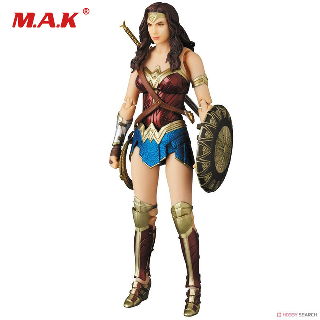PLAY ARTS Wonder Woman DC Justice League Statue Action Figure Model Toys Collection Model Toys for Children Kid Gift