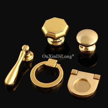 20PCS European Gold Kitchen Cabinet Pulls Handles Cupboard Wardrobe Dresser Drawer Wine Cabinet Door Handles and Knobs