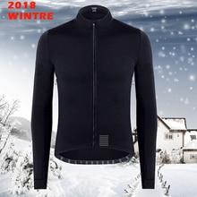 2018 winter thermal fleece long sleeve jerseys enhanced waterproof windproof clothing bike maillot ciclismo bicicleta ciclismo недорого