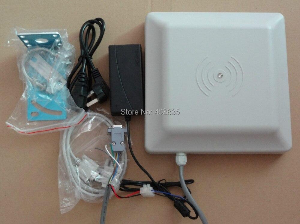 free SDK_Long range passive uhf rfid reader 2~5meter distance and WG26/34,RS232/485 interface