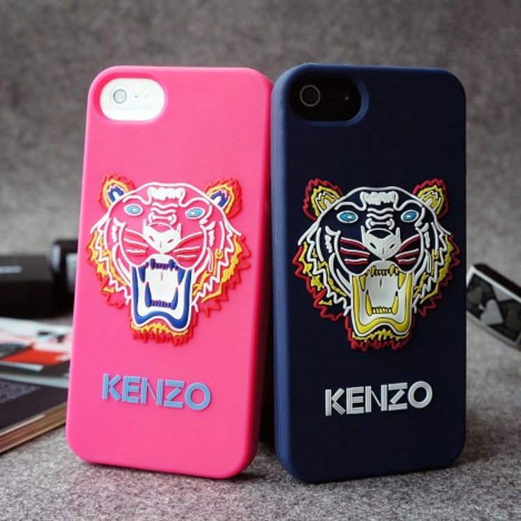 2014 High Qualiy New Design Brand Silicone Case iPhone 5 5s Steller Tiger Head Back Cover Phone - Esino Global Trade Co., Ltd. store