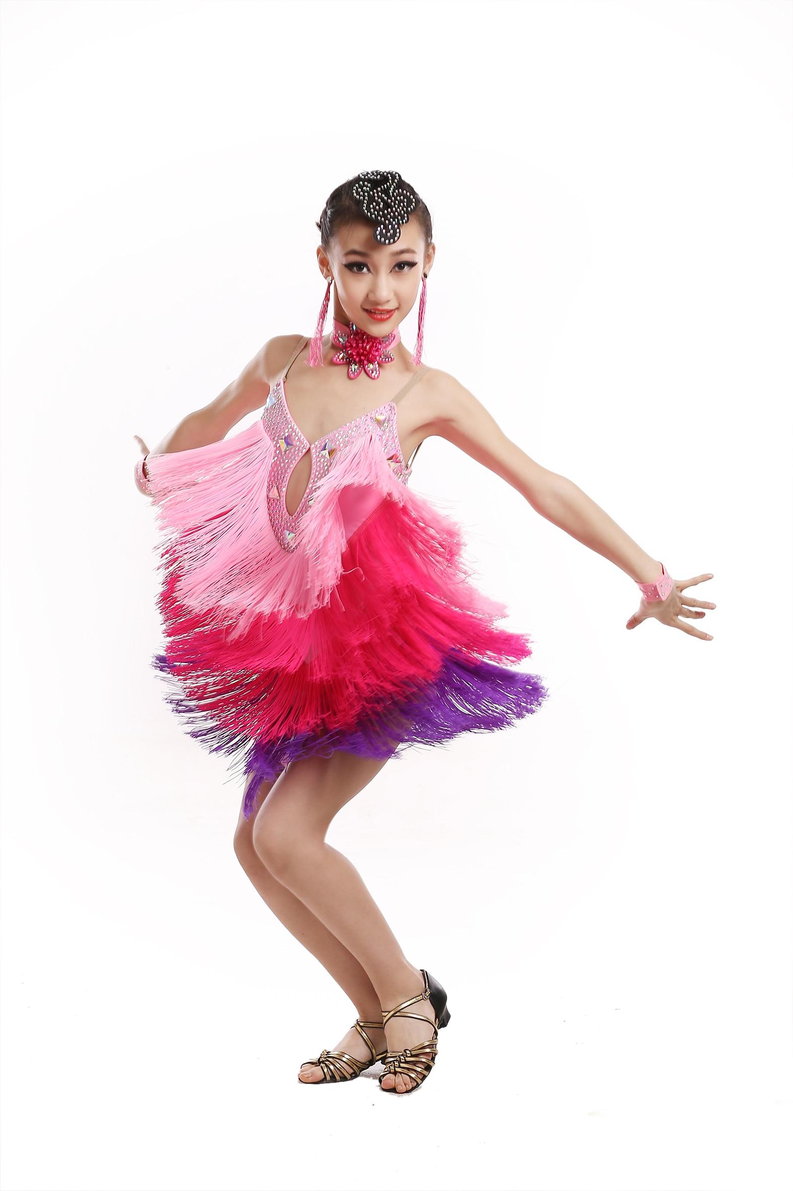 91da3349be2 Κορίτσια Μοντέρνο Φόρεμα Χορού Παιδικό Διαγωνισμό Χορού Λαϊκό Φόρεμα ...
