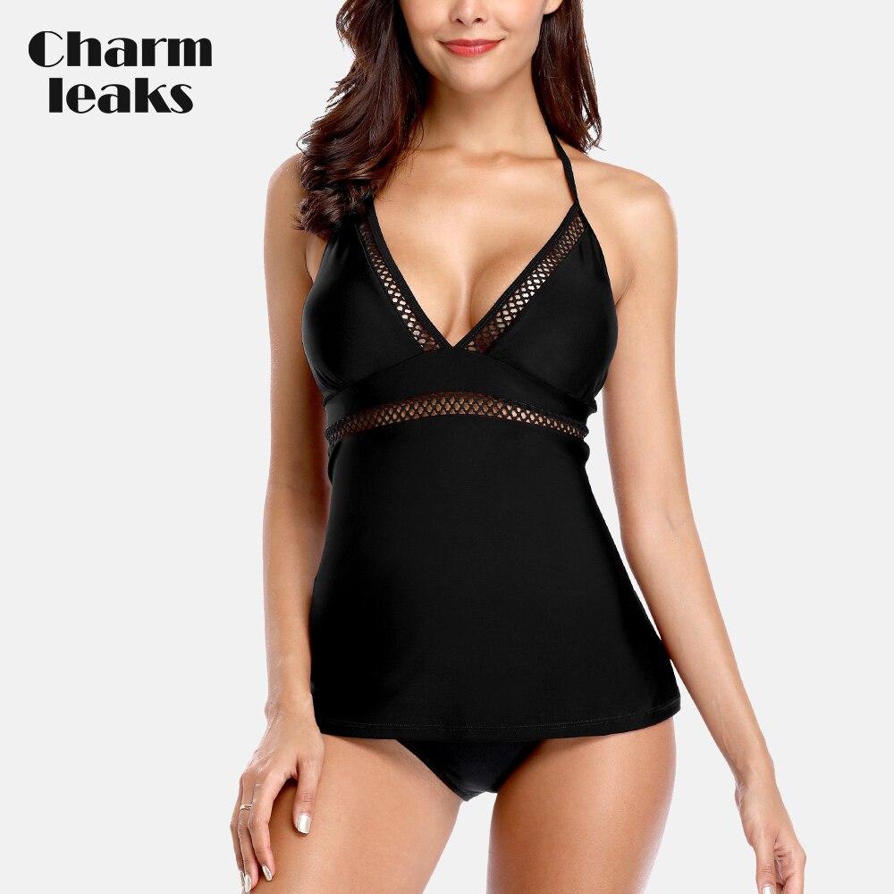 Charmleaks Womens Tankini Set…