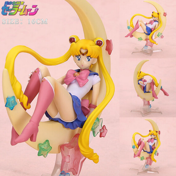 Japan anime Sailor Moon figure tsukino usagi pvc action figure collectible model toy doll 16cm anime figure brinquedos hot sale huong anime slam dunk 24cm number 11 rukawa kaede pvc action figure collectible toy model brinquedos christmas gift