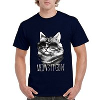 Create T Shirt Online Fashion Meow S It Goin Best Selling Cat Series Mens Crew Neck