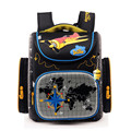 wholesale Delune Boys School Bags Backpack Blue Car Yellow Plane children Kids Primary 1-5 Grade Orthopedic Waterproof Schoolbag