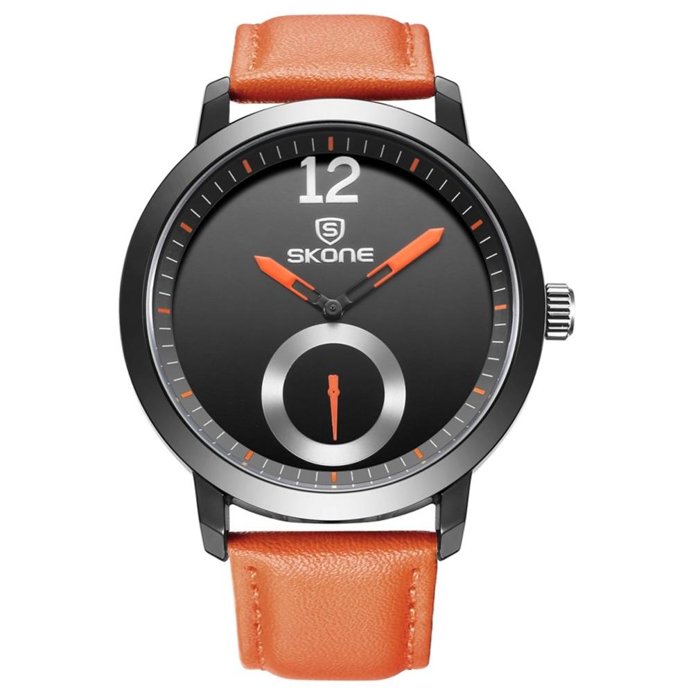 SKONE relojes hombres marca de lujo hombres reloj relogio relojes de - Relojes para hombres - foto 2