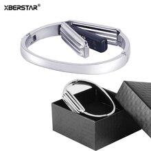 Correa de reloj de pulsera para Fitbit Flex 2 correas de reloj accesorio de acero inoxidable materiales Premium correa para Fitbit Flex2 Watchand