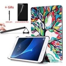 2016 Tab A6 7.0 Case For Samsung Galaxy Tab A 7.0 SM-T280 T285 Stand Tablet  PU Leather Cover For Samsung Galaxy Tab A6 7.0 Case