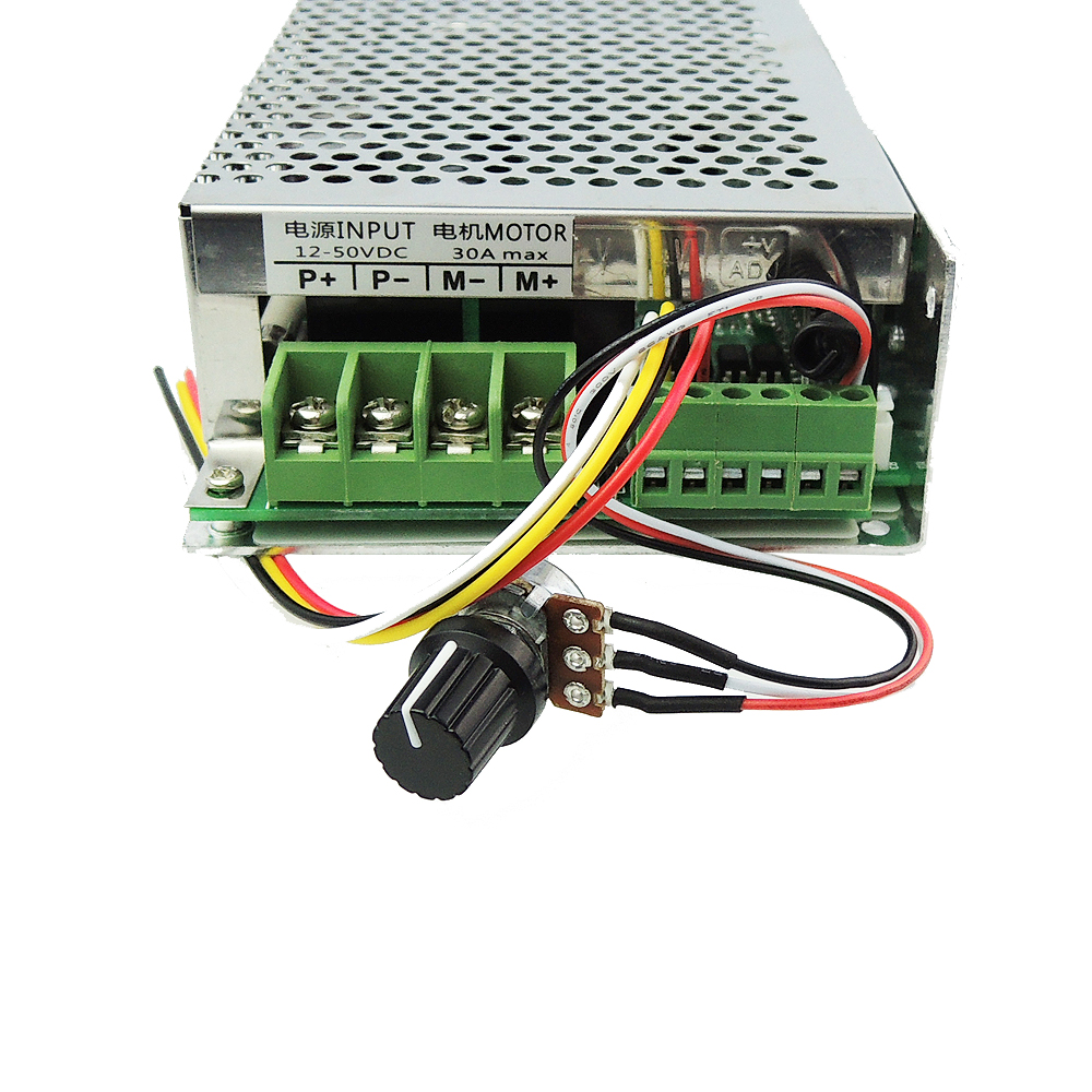 12-30V DC Motor Speed Controller Reversing Control 30A Wireless Remote Control