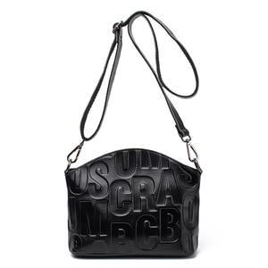 Image 1 - Marca de moda sacos de couro genuíno bolsa elegante estilo luxo bolsas femininas bolsa feminina muitas cores