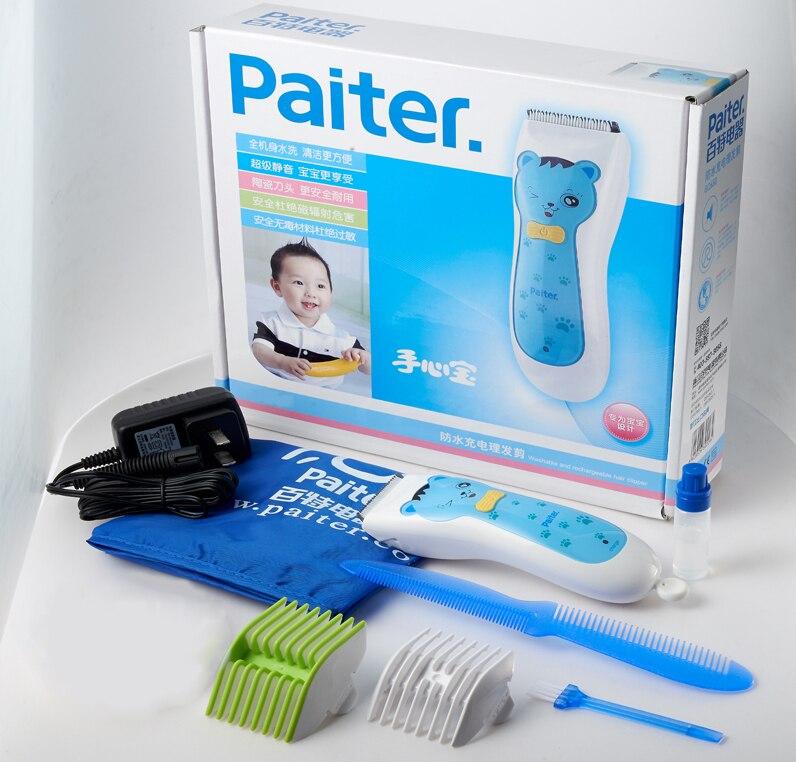 Paiter électrique tondeuse à cheveux tondeuse pour enfants coupe-cheveux Machine coupe lavable enfants utilisation - 6