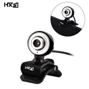 Image 5 - HXSJ 480P موضة HD كاميرا ويب بكسل USB2.0 الكمبيوتر كاميرا ويب A848 ميكروفون مدمج للكمبيوتر المحمول كاميرا الفيديو