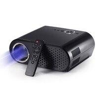 Gp90up 1280x800 3200 lúmen led android 4.4 caixa de tv 1g/8g wifi bt4.0 suporte proyector miracast ac3 mini beamer