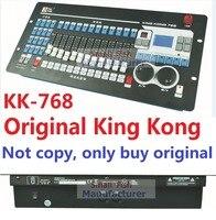 2016 Kingkong KK 768 профессиональный DMX контроллер 768 DMX каналов встроенный 135 Графика Этап освещения 512 dmx Оборудование Консоли