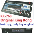 2016 Kingkong KK-768 Professional DMX controller 768 DMX channels Built-in 135 Graphics Stage Lighting 512 Dmx Console Equipment