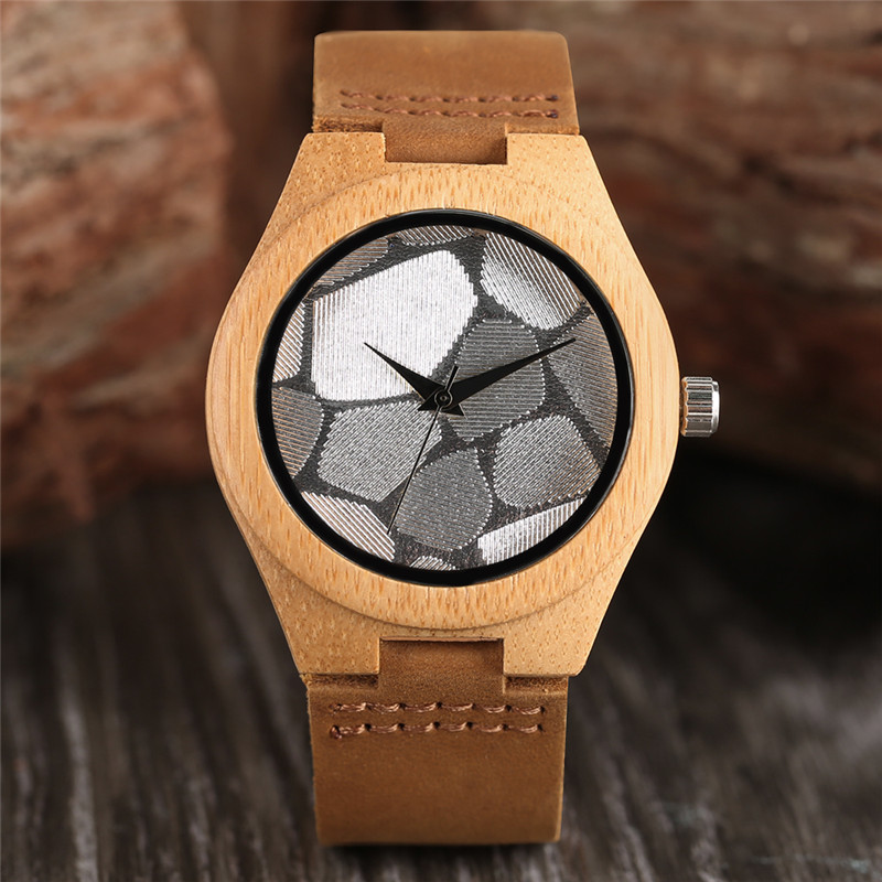 Minimalist Silver/Blue Face Dial Sandalwood Wristwatch Men Sport Clock Gift Genuine Leather Strap Creative Bamboo Women Watches игрушка ecx torment silver blue ecx03033t1